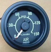 Utrema Auto Mechanical Dual Needle Air Pressure Gauge 2 1 16