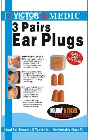V 5002 Ear Plug For Keeping Away Noise