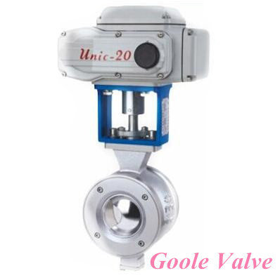 V Port Ball Valve 1 6 4mpa 20 600mm