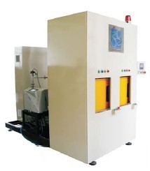 Vacuum Chamber Helium Leak Detection Machine For A C Compressors