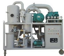 Vacuum Purifier Filtration Machine For Used Transformer Insulating Oil Zyd