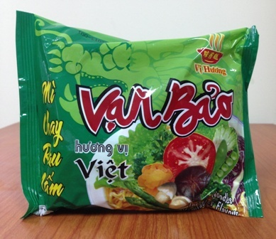 Van Bao Vegetable Flavour Instant Noodles