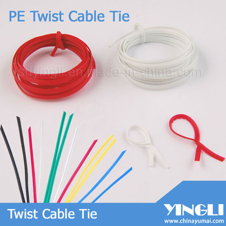 Variety Color Pe Twist Cable Tie