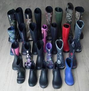 Various Neoprene Boots For Men Women And Kids