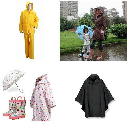 Various New Fashion Raincoat