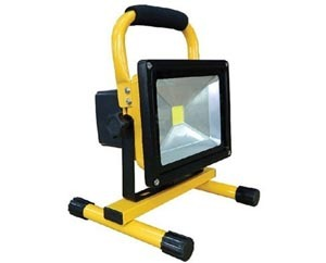 Vde Saa Dimmable Pir Rgb 10w Battery Led Floodlight
