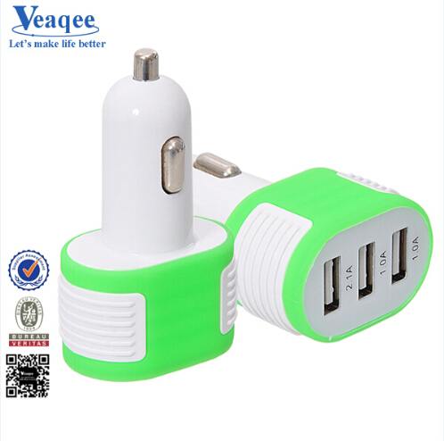 Veaqee 3 Usb Ports Car Charger