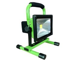 Ved Saa Dimmable Pir Rgb 30w Led Battery Floodlight
