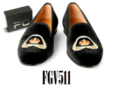 Velvet Loafers By Feather Glory Footwear