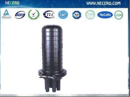Vertical Style Optical Fiber Splice Closure