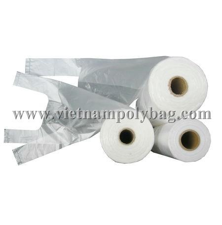Vest Carrier Plastic Poly Bag On Roll