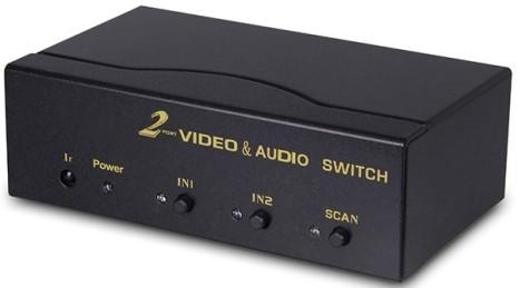 Vga Audio 2x1 Switcher Hl Swva201