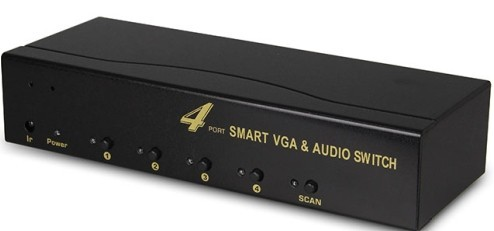 Vga Audio 4x1 Switcher
