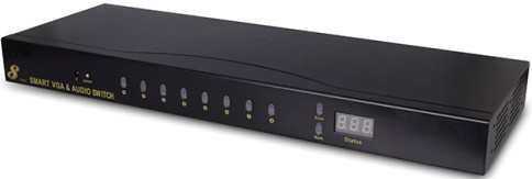 Vga Audio 8x1 Switcher Hl Swva801