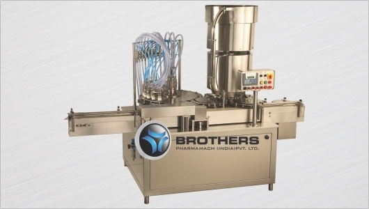 Vial Filling Machine From Brothers