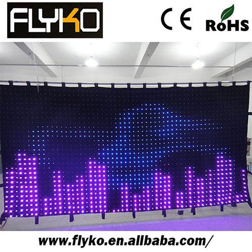 Video Led Curtain Screens