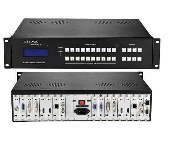 Vissonic Modular Matrix Switcher 8x8 36x36