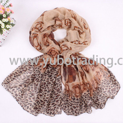 Voile Scarf Yb0083 100 Cotton