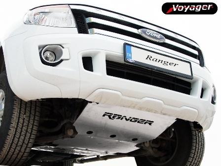 Voyager Automotive Alumininum Underride Protector Auto Exterior Design Part