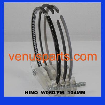 W06e Hino Diesel Engine Piston Ring 13011 1983 2420