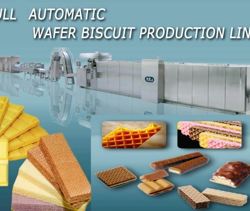 Wafer Waffle Biscuit Production Line