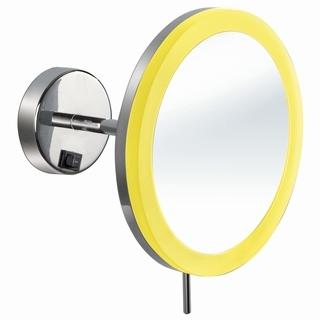 Wall Hung Led Make Up Mirror With Acrylic Lampshade