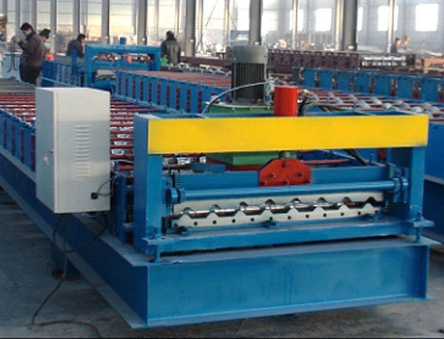 Wall Panel Roll Forming Machine Component Of The