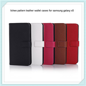 Wallet Leather Case For Samsung Galaxy S5