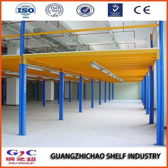Warehouse Steel Mezzanine Floor Rack