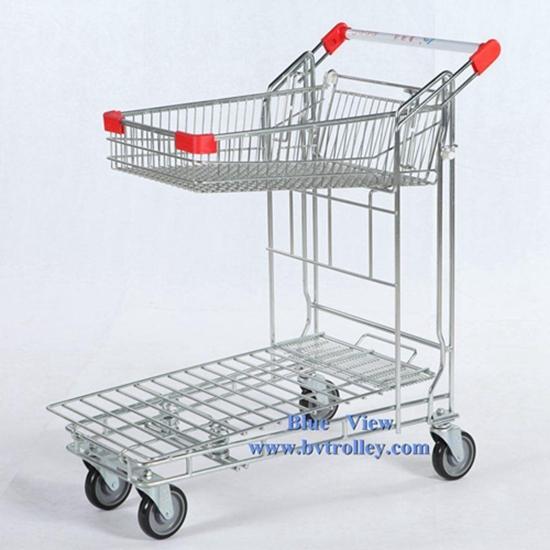 Warehouse Trolley Heavy Supermarket Hand