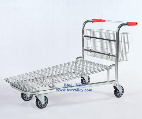Warehouse Trolley Storage Cart Hand