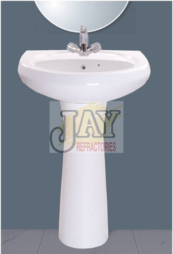 Wash Basin With Pedestal Repose Model