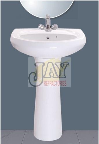 Wash Basin With Pedestal Repose Model