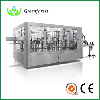 Wash Filling Capping Water Machine