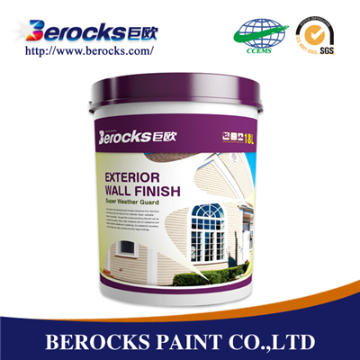 Water Based Exterior Finish Paint