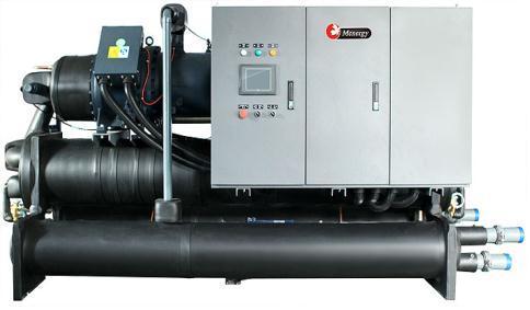 Water Cooled Screw Chiller Screen Poor Separator