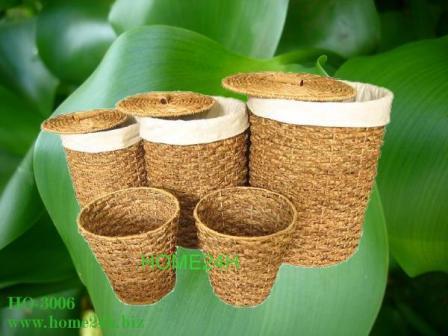 Water Hyacinth Storage Hamper Liner Insdie
