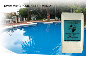 Waterklean Eco Swimming Pool Filtration Media 50 Lb