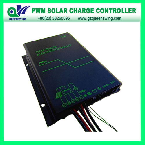 Waterproof 12v 24v 10a Solar Charge Controller With Led Digital Display