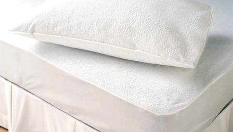 Waterproof Terry Pillow Protectors Anti Bed Bug Cover