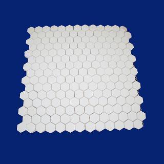 Wear Resistant Alumina Mosaic Tile