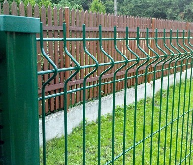 Welded Curved Fence