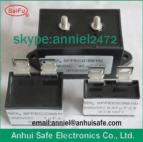 Welding Inverter Dc Filter Capacitor 1uf To 40uf 1200vdc 1250vdc 1400vdc 18