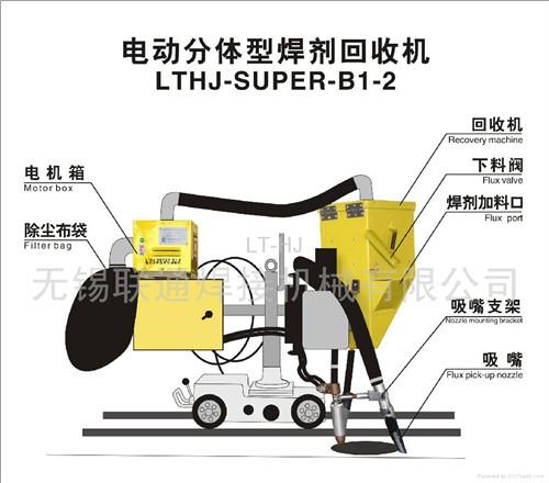 Welding Tractor Flux Recovery Machine Lthj Super B1 2