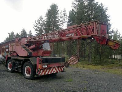 Wheel Crane Kato Kr 20 H