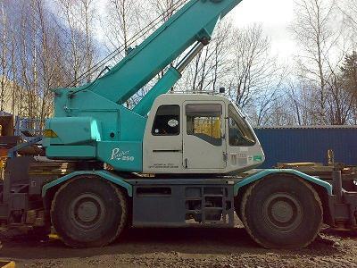 Wheel Crane Kobelco Rk 250 Iii
