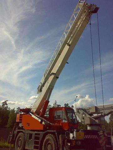 Wheel Crane Tadano Tr 300 Ex