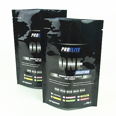 Whey Protein Powder Stand Up Aluminium Foil Bag