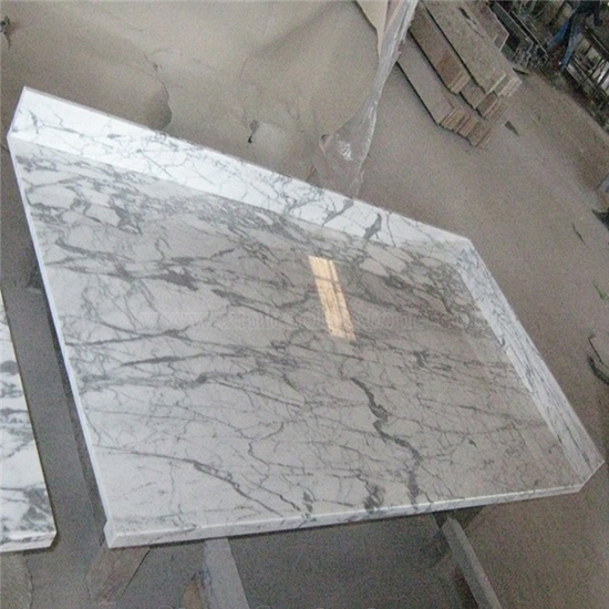 White Marble Countertops Arabescato Corchia
