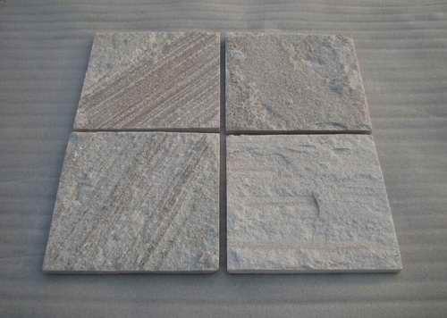 White Wood Grain Quartzite Tile Zf1307